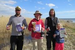 Kalakarikas 2017 võitjate esikolmik